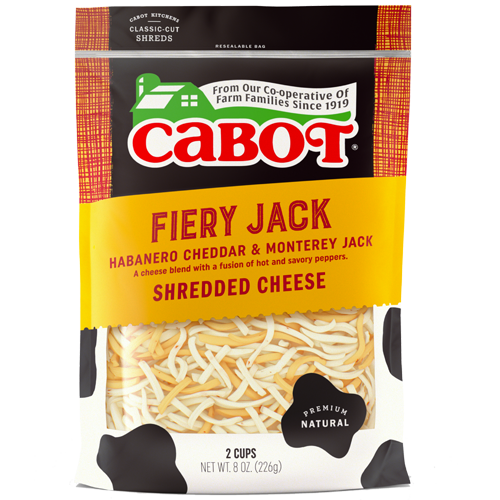 Fiery Jack Shredded Cheese