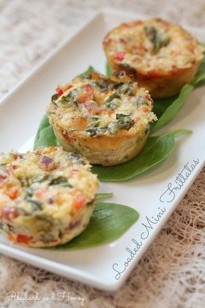 Loaded Mini Frittatas