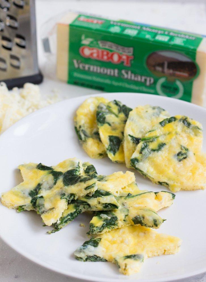 Cheddar Spinach Egg Bites