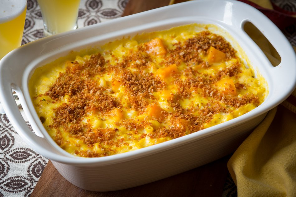 Grown Up Mac & Cheese with Butternut Squash