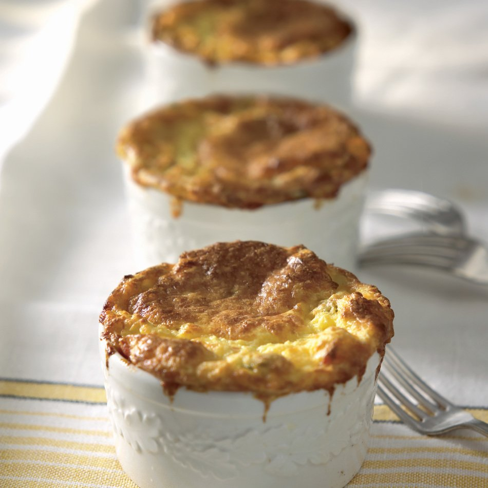 Corn and Cabot Cheddar Pudding