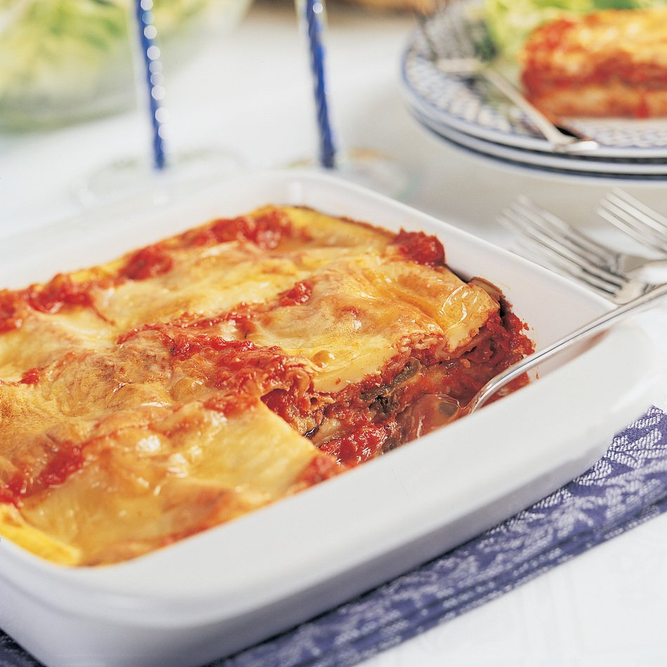 Roasted Vegetable Matzo Lasagna Recipe