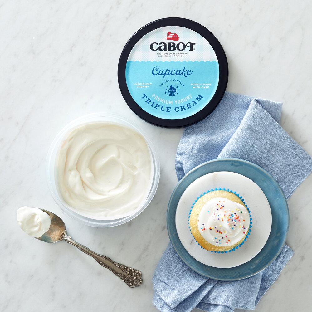 Triple Cream Cupcake Yogurt