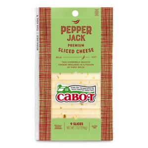 Pepper Jack Sliced Cheese