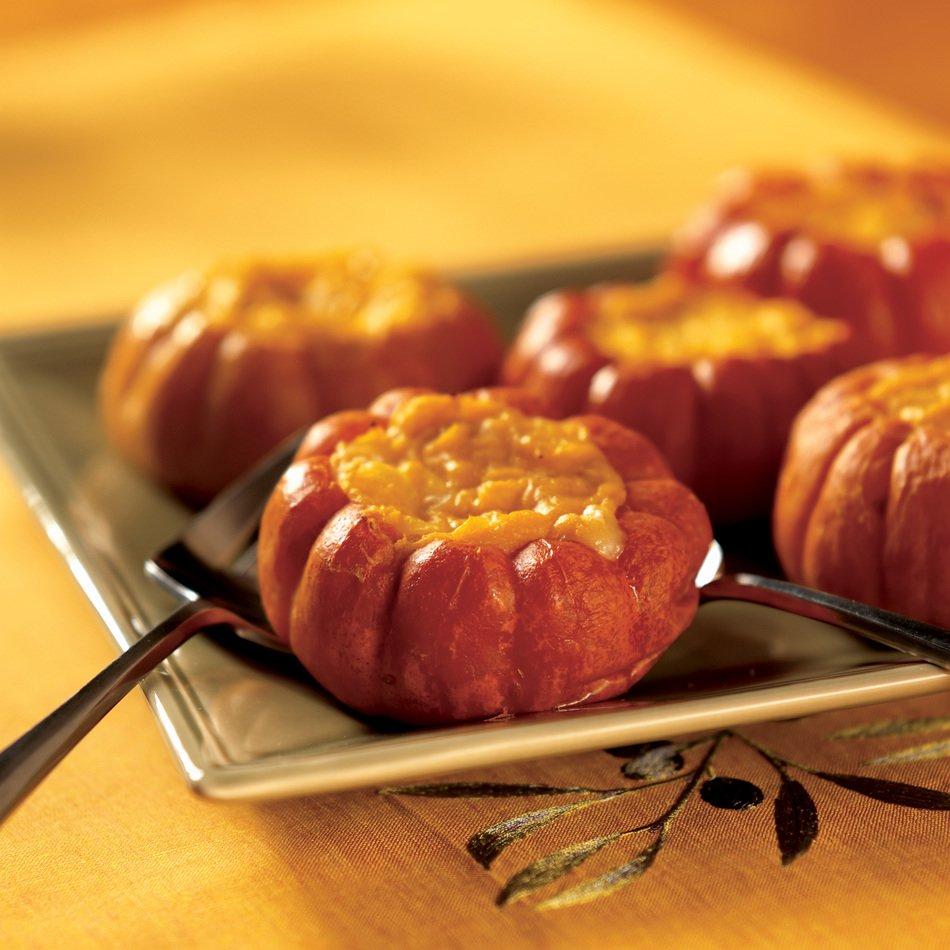 Pumpkin Souffle with Habanero Cheddar