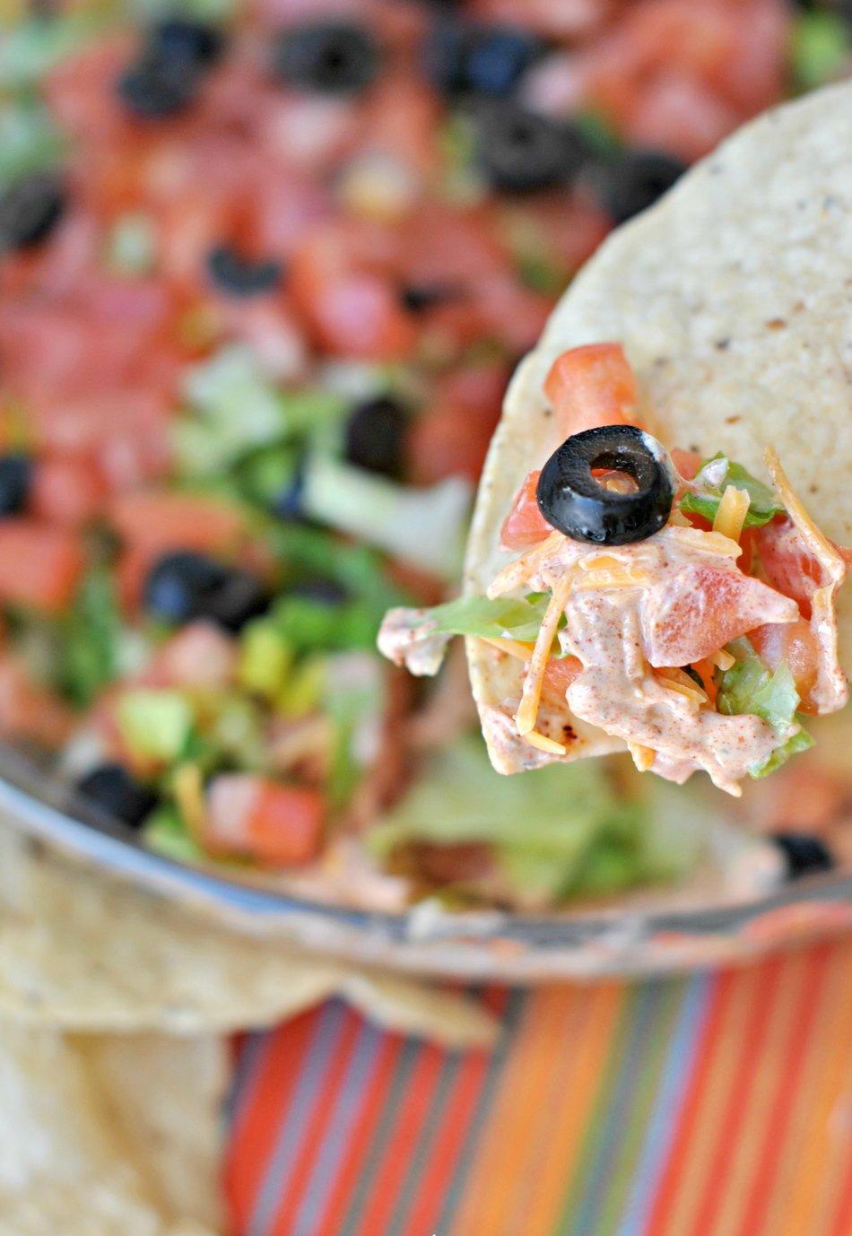 Healthy Taco Dip