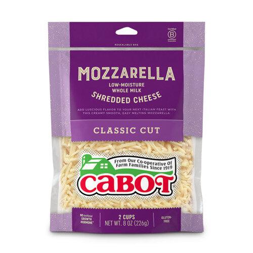 Mozzarella Whole Milk Shredded Cheese