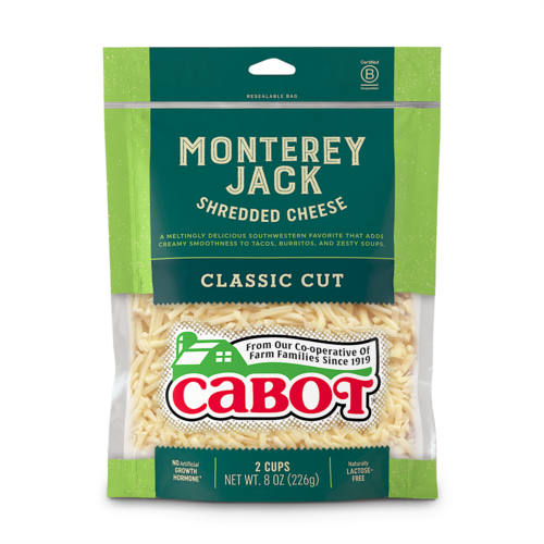 Monterey Jack Shredded Cheese