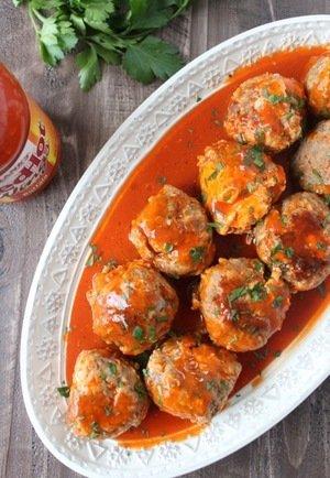 Slow Cooker Sausage Balls