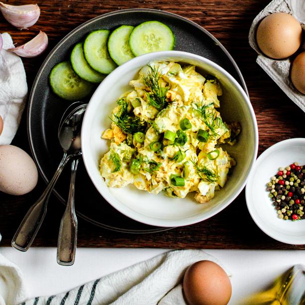 Tzatziki Egg Salad