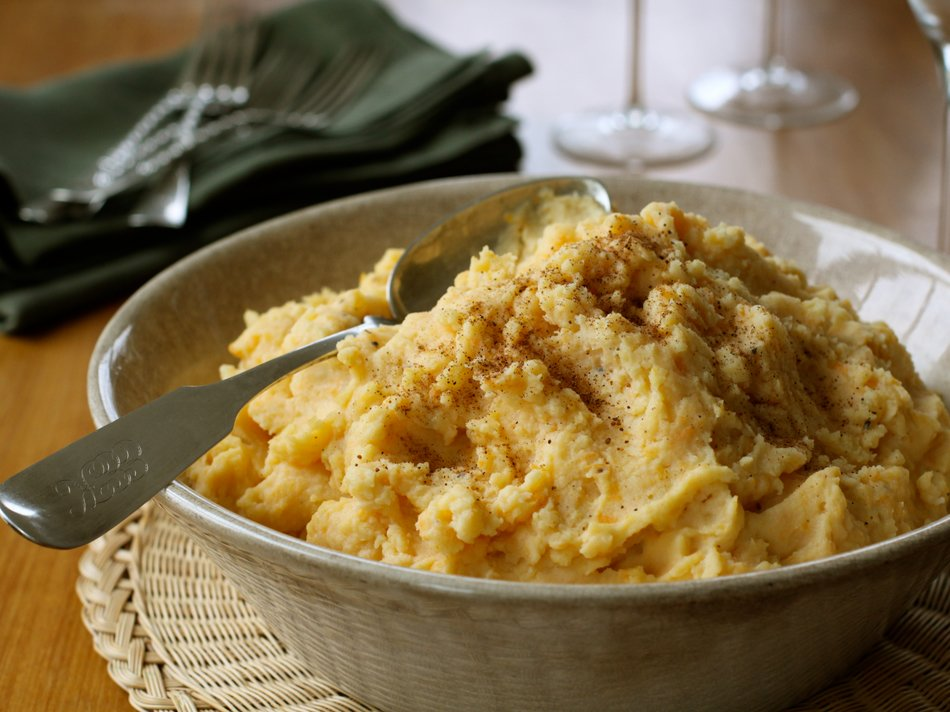 Golden Mashed Party Potatoes