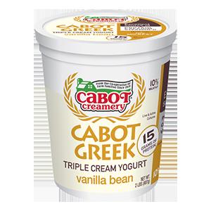 Triple Cream Vanilla Bean Greek Yogurt