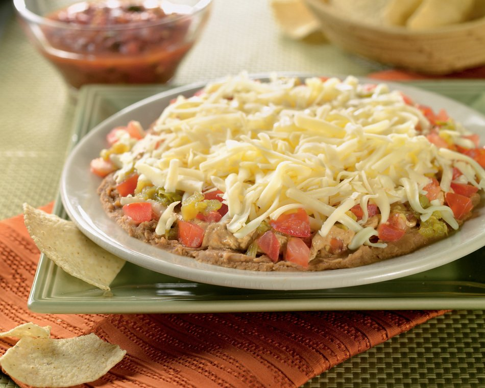 Seven Layer Cheese Dip