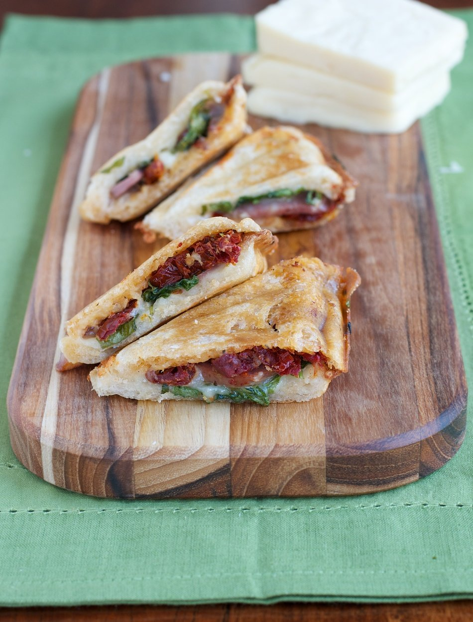 Grilled Cheese with Sundried Tomato & Sausage
