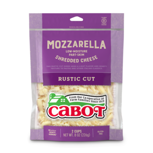 Mozzarella Part-Skim Rustic Cut Shredded Cheese