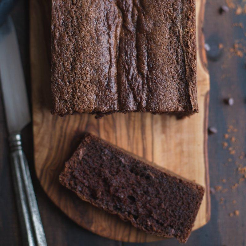 Chocolate Sour Cream Brownie Cake
