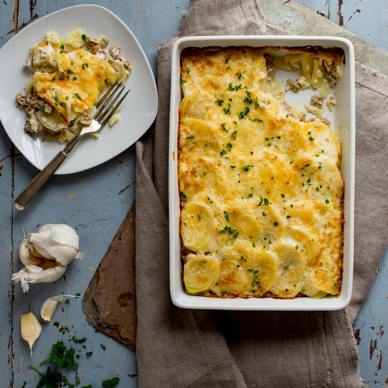 Easy Turkey Potato Casserole Recipe Cabot Creamery