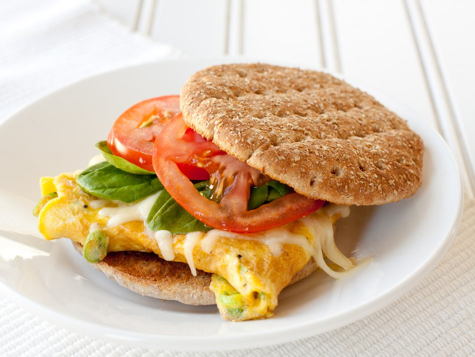 Egg Cheddar Breakfast Sandwich