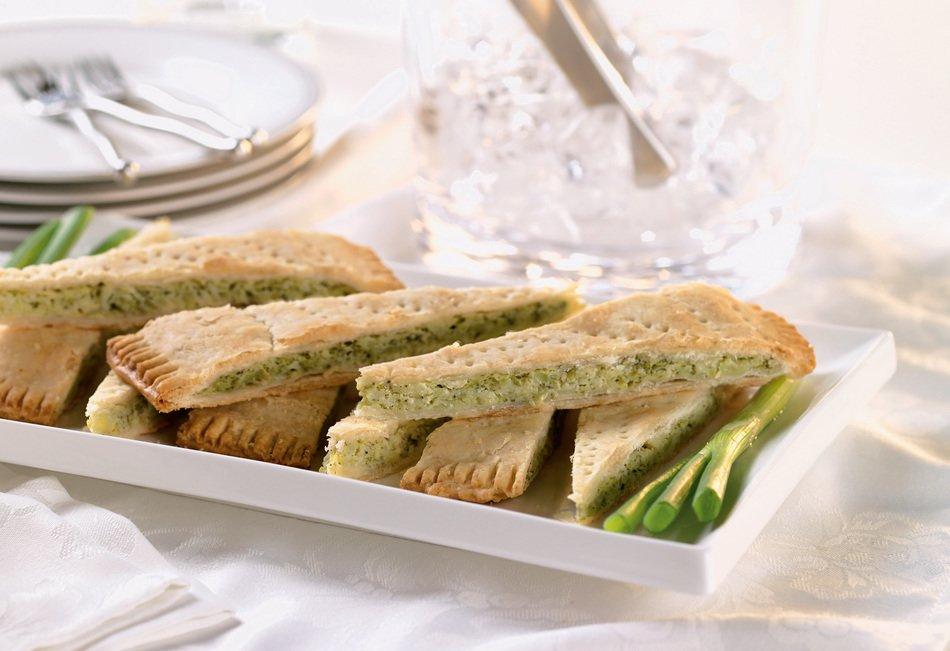 Broccoli-Cabot Cheddar Tart