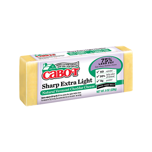 Sharp Extra Light Cheddar Cheese