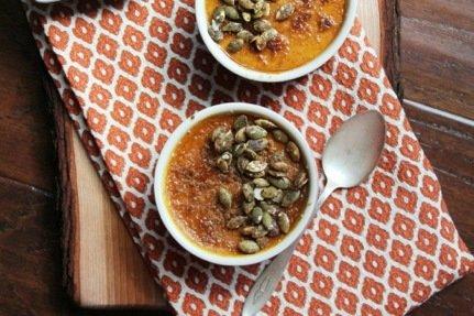 Salted Pumpkin Crème Brule