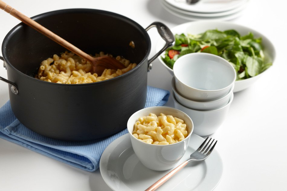 Stovetop Light Macaroni & Cheese