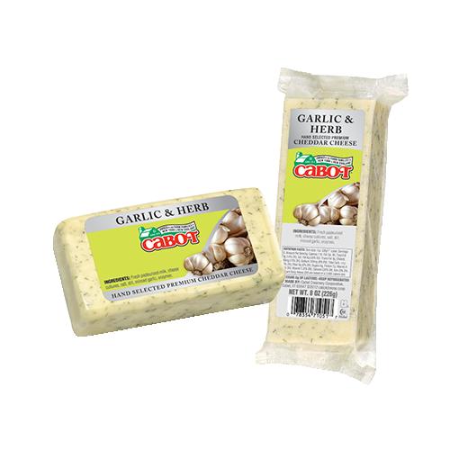 Garlic & Herb Cheddar Cheese