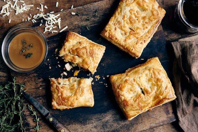 Cheesy Puff Pies