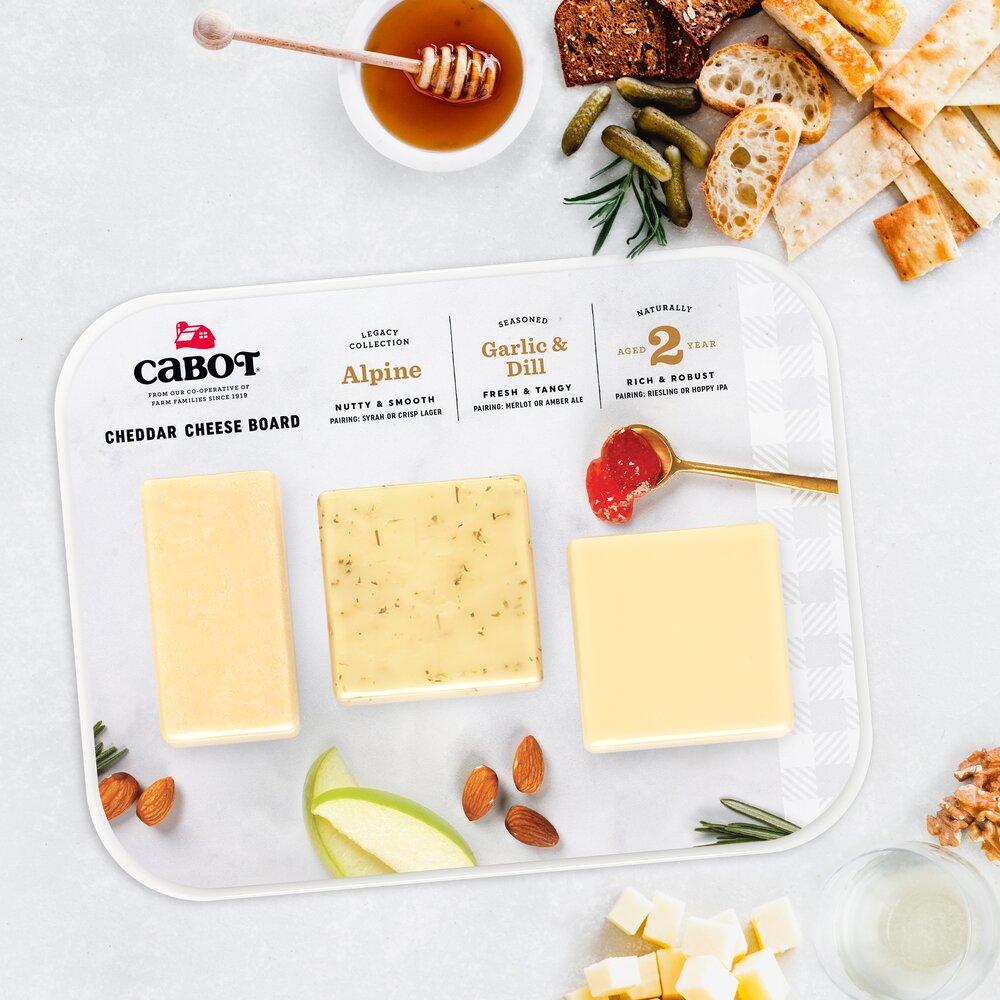 Cheddar Cheese Board