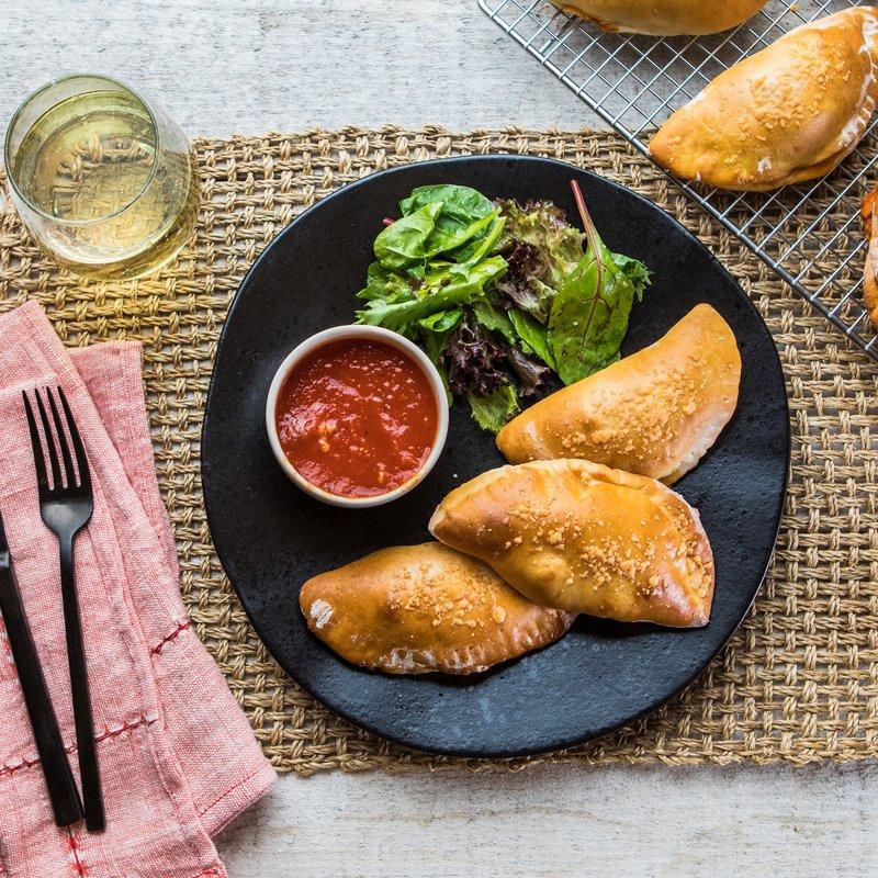 Chicken Parmesan Mini Calzones