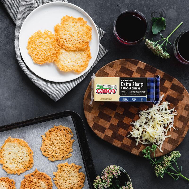 Cabot Cheddar Lace Crisps