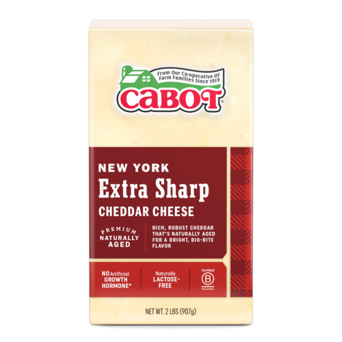 New York Extra Sharp Cheddar Cheese 2 lb