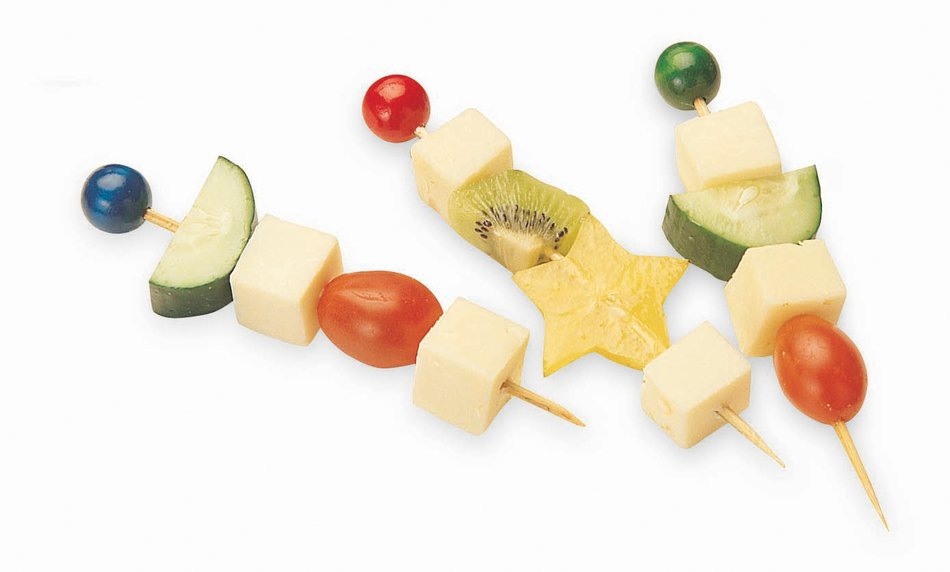 Crazy Bobs, Cabot Cheddar Cheese and Fruits