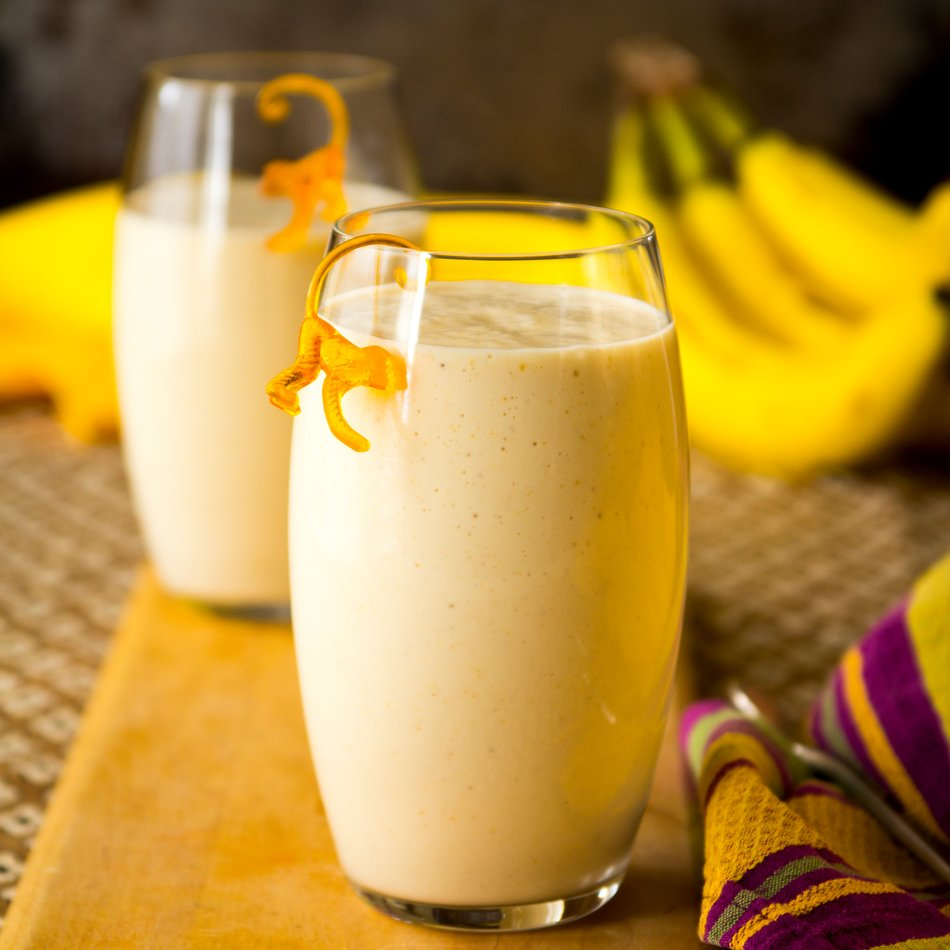 Nutty Monkey Protein Smoothie