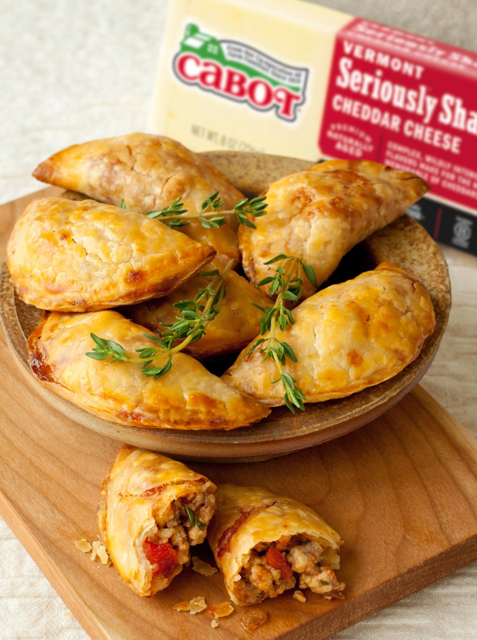 Spicy Pork & Cheddar Empanadas | Sweet And Savory Empanada Recipes