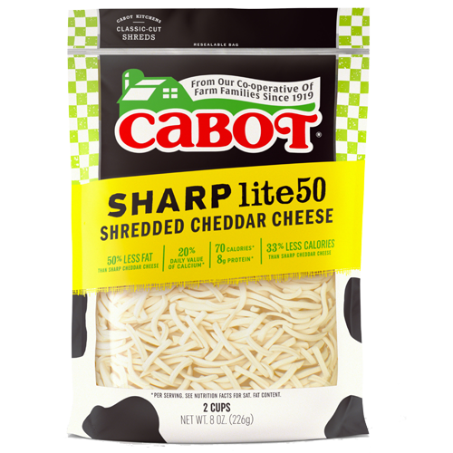 Sharp Light Cheddar Cheese