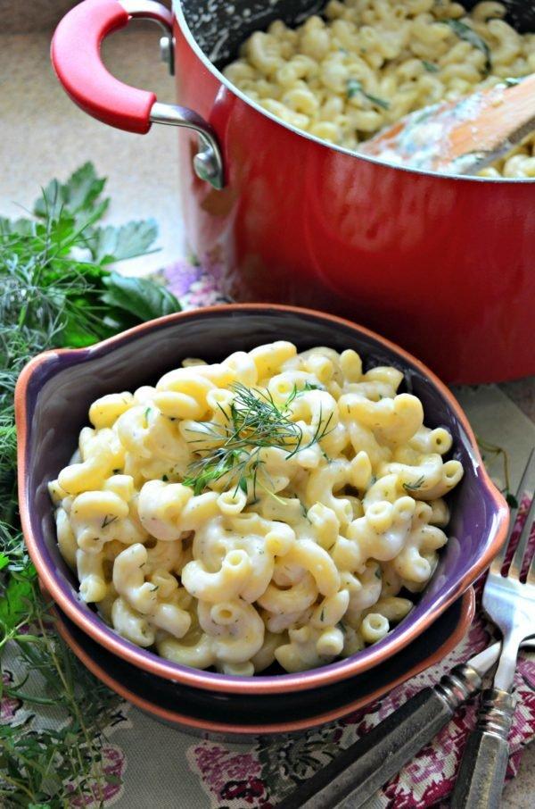 Stovetop Macaroni & Garlic Herb Cheddar Cheese