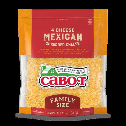 4 Cheese Mexican Shredded Cheddar Cheese