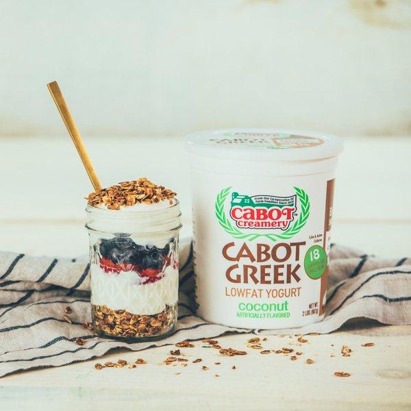 Coconut Lowfat Greek Yogurt