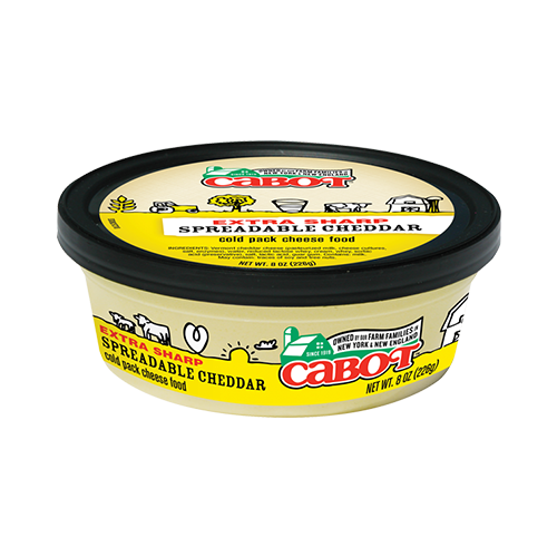 Extra Sharp Spreadable Cheddar Cheese | Cabot Creamery