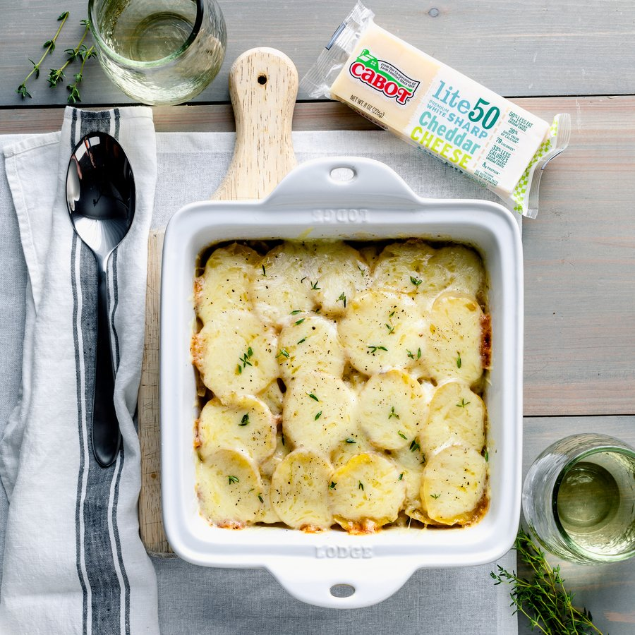 Quick & Healthy Potato Casserole Recipe