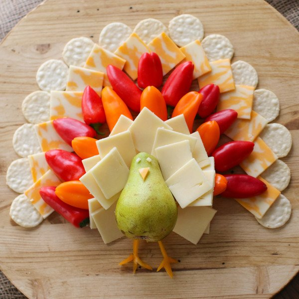 Turkey Cheese Board