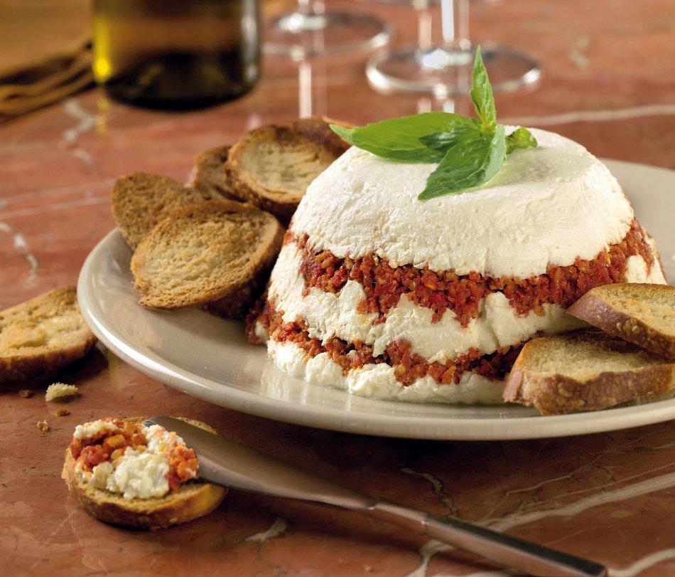 Sundried Tomato Torte