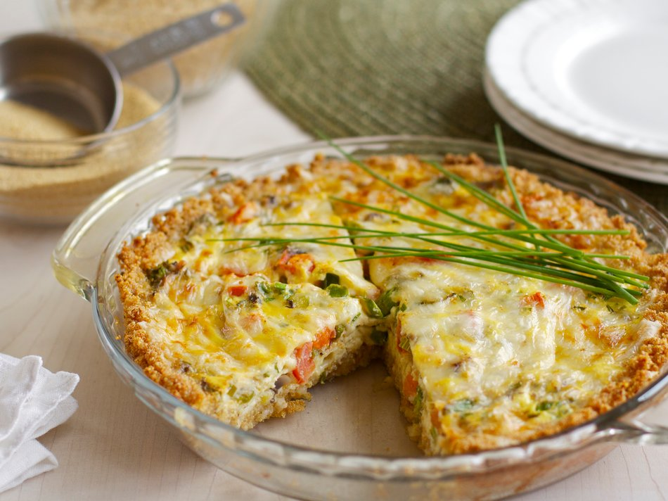 Whole Grain Quiche