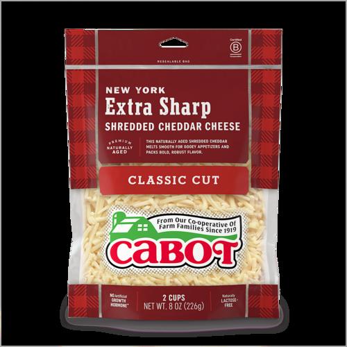 New York Extra Sharp Shredded Cheddar Cheese
