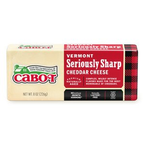 Seriously Sharp Cheddar Cheese