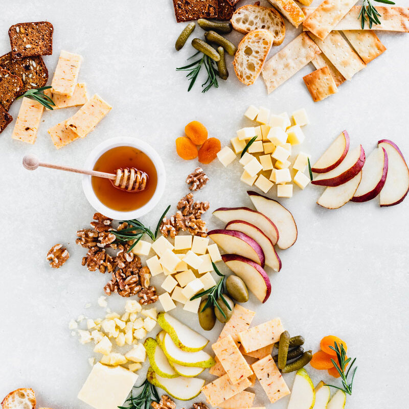 Festive Flavors Cheese Board