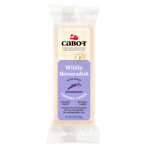 Wildly Horseradish Cheddar Cheese