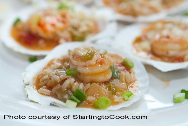 Seafood Jambalaya with Cabot Cheddar