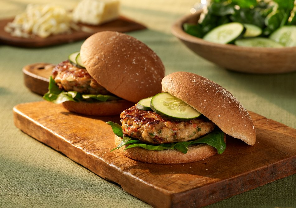 Cabot Chicken Burgers